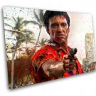 Scarface, Al Pacino, Tony Montana  12x16 inches Stretched Canvas