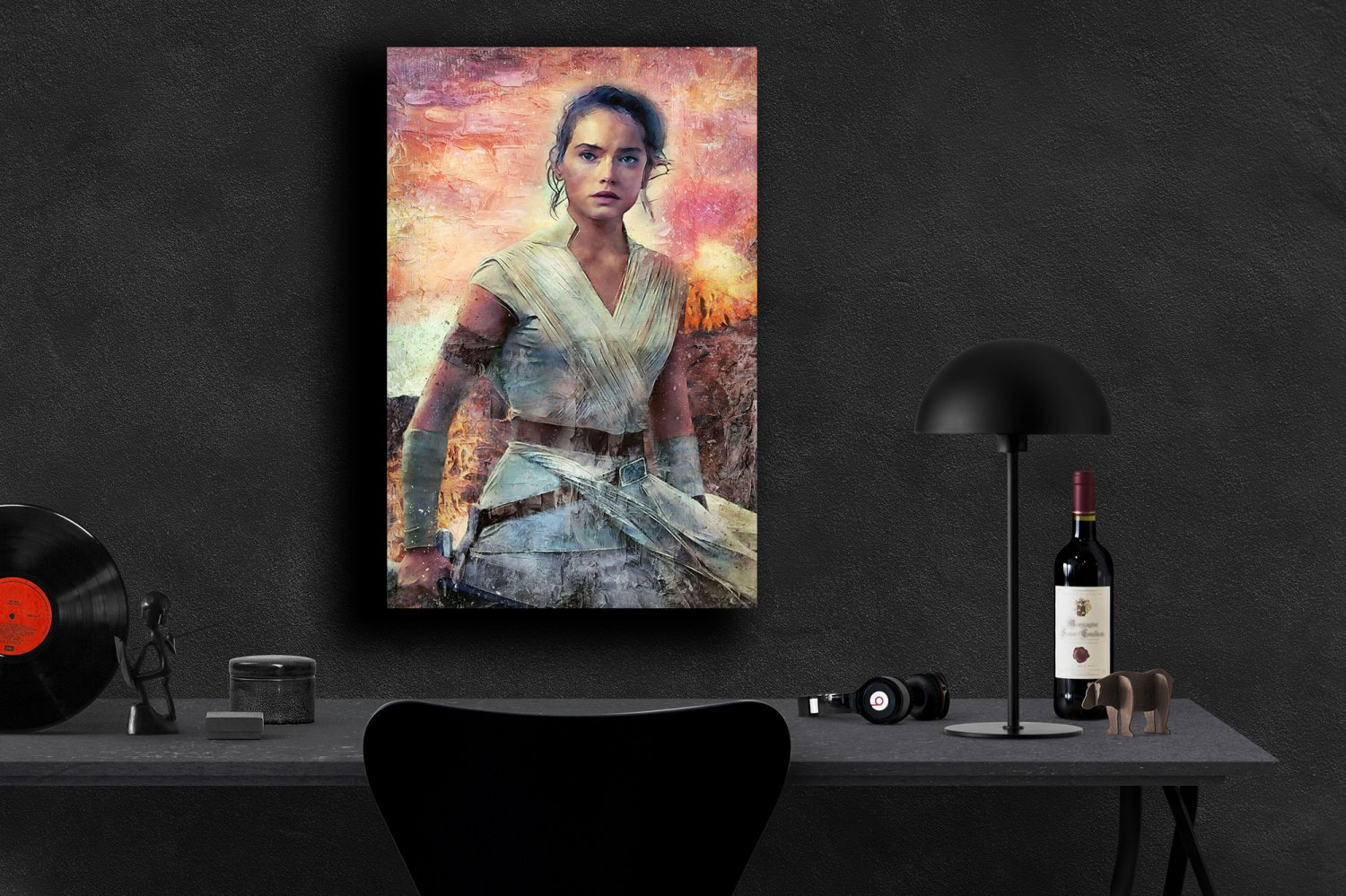 Star Wars The Rise of Skywalker, Rey, Daisy Ridley  18x28 inches Poster Print