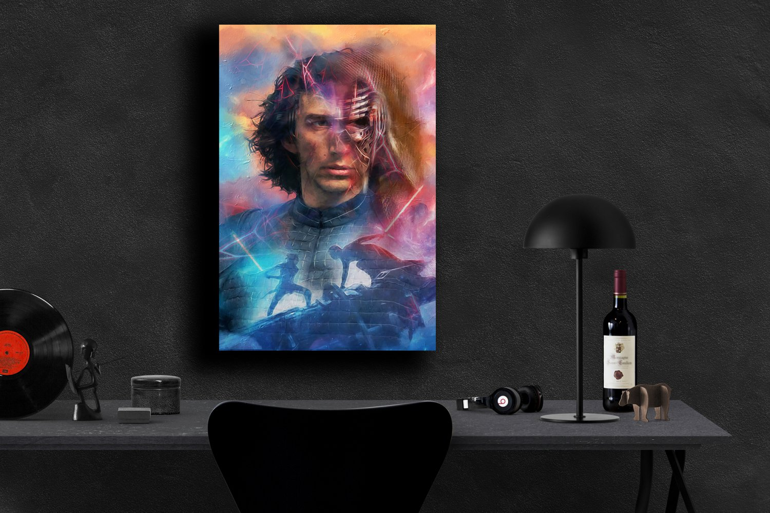 Star Wars The Rise of Skywalker, Rey, Kylo Ren, Daisy Ridley, Adam Driver  8x12 inches Photo Paper