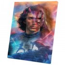 Star Wars The Rise of Skywalker, Rey, Kylo Ren,  Adam Driver    14x20 inches Stretched Canvas
