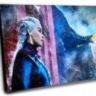 Game of Thrones, Daenerys Targaryen, Emilia Clarke  8x12 inches Stretched Canvas