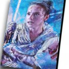 Star Wars The Rise of Skywalker, Rey, Daisy Ridley   10x14 inches Stretched Canvas