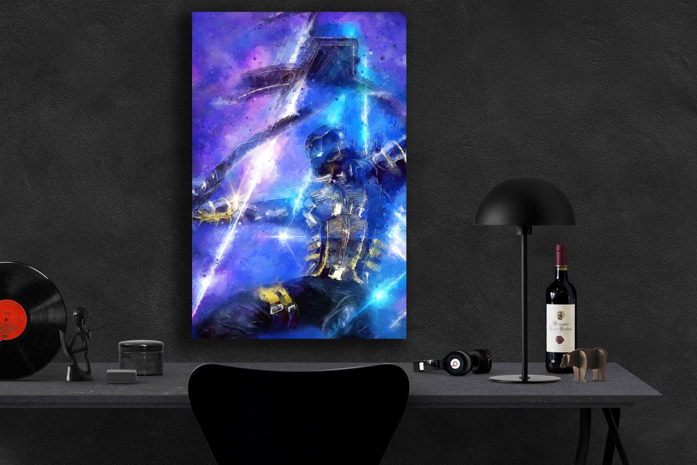 Ronin Hawkeye Avengers Endgame  13x19 inches Canvas Print