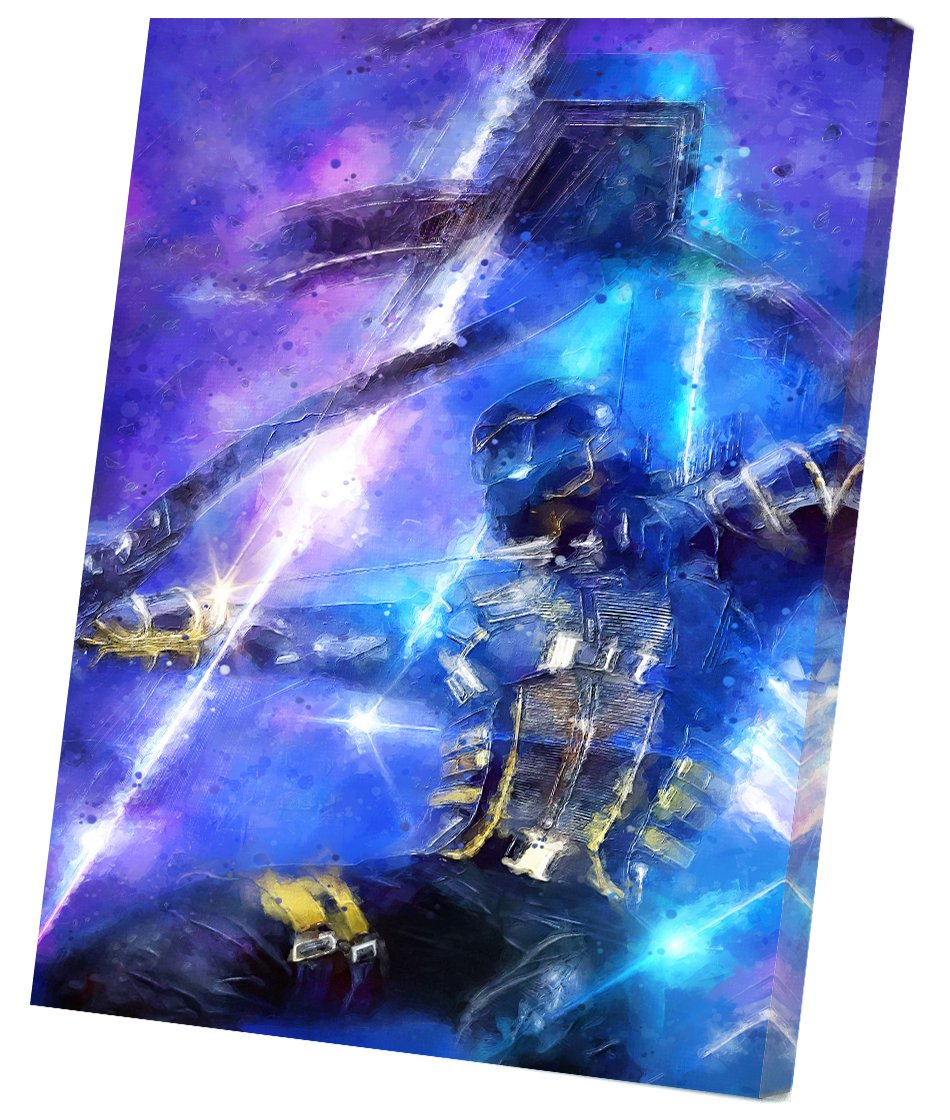Ronin Hawkeye Avengers Endgame  8x12 inches Stretched Canvas