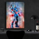 Iron Patriot  13x19 inches Canvas Print