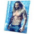 Aquaman, Jason Momoa, Movie  12x16 inches Stretched Canvas