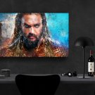 Aquaman, Jason Momoa, Movie   8x12 inches Canvas Print
