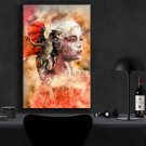 Game of Thrones, Daenerys Targaryen, Emilia Clarke  8x12 inches Canvas Print