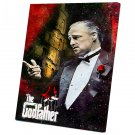 The Godfather, Vito Corleone, Marlon Brando   14x20 inches Stretched Canvas