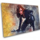 Black Widow  10x14 inches Stretched Canvas