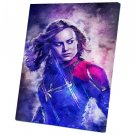 Captain Marvel  10x14 inches Stretched Canvas
