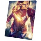 Captain Marvel   14x20 inches Stretched Canvas