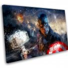 Captain America, Avengers Endgame  10x14 inches Stretched Canvas