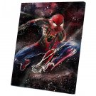 Spider-Man Far from Home, Spiderman, Peter Parker  10x14 inches Stretched Canvas