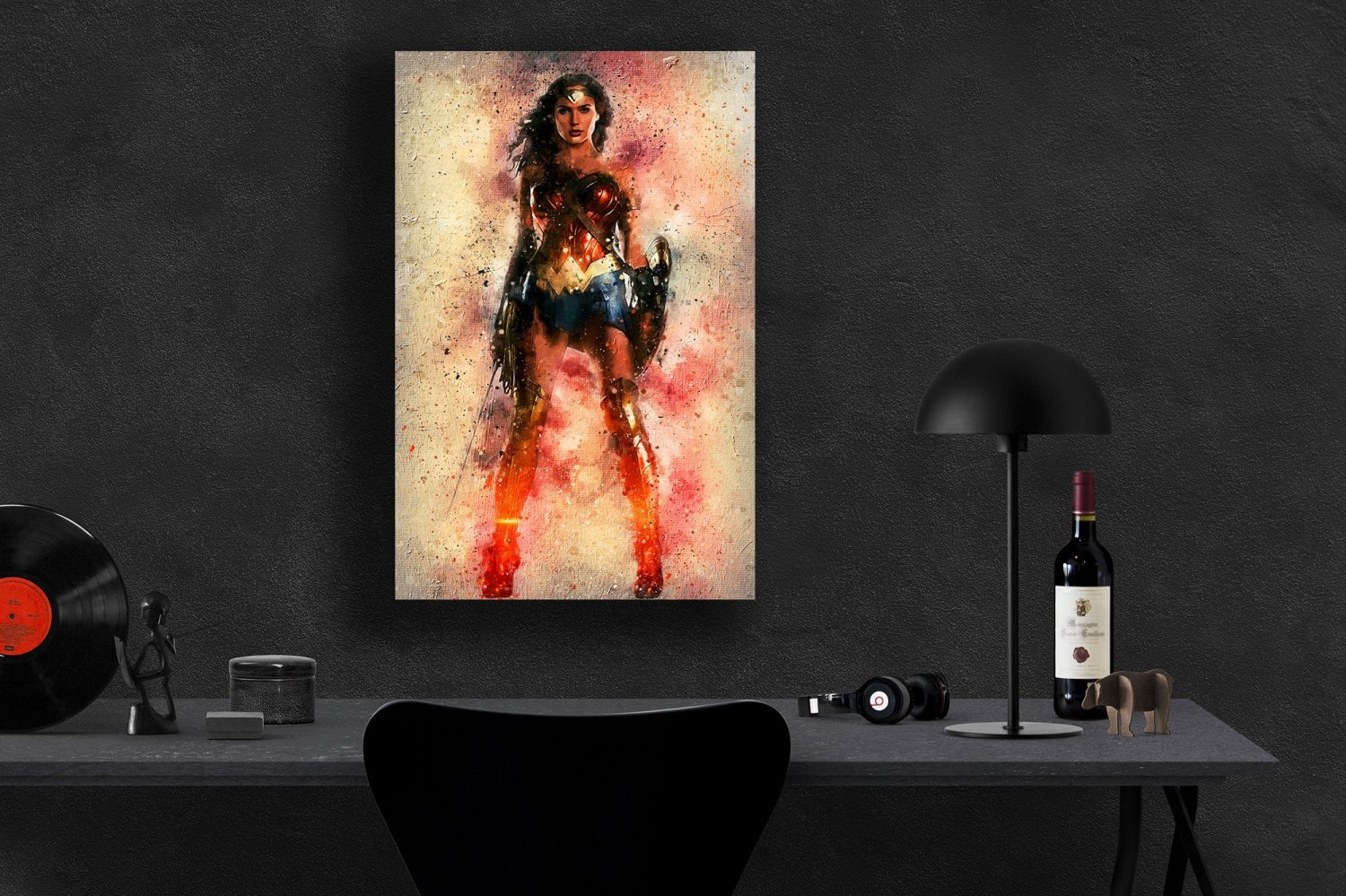 Wonder Woman   8x12 inches Photo Paper