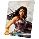 Wonder Woman  8x12 inches Stretched Canvas