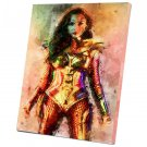 Wonder Woman 10x14 inches Stretched Canvas