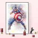 Captain America  8x12 inches Canvas Print