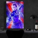 Black Widow   13x19 inches Canvas Print