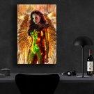 Wonder Woman, Diana Prince, Gal Gadot   8x12 inches Canvas Print