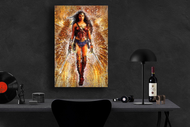 Wonder Woman, Diana Prince, Gal Gadot   13x19 inches Poster Print