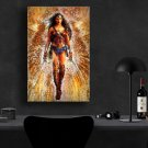 Wonder Woman, Diana Prince, Gal Gadot   8x12 inches Canvas Print