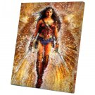 Wonder Woman, Diana Prince, Gal Gadot  10x14 inches Stretched Canvas