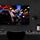 The Joker, Heath Ledger   18x28 inches Canvas Print