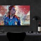 Black Widow, Natasha Romanoff    13x19 inches Canvas Print
