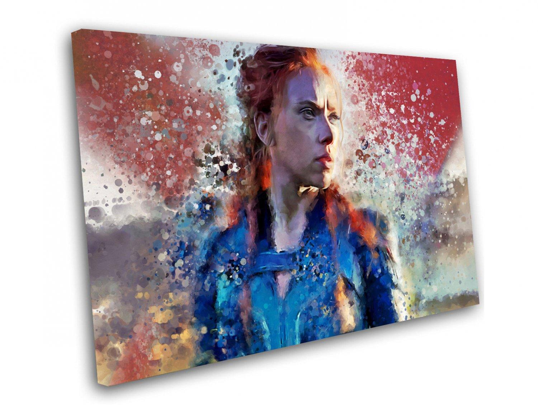Black Widow, Natasha Romanoff   14x20 inches Stretched Canvas