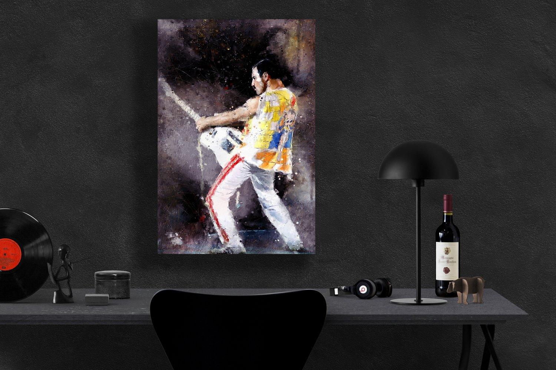 Freddie Mercury  13x19 inches Poster Print