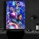 Avengers Endgame, Iron Man, Captain America, Thor   13x19 inches Canvas Print