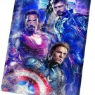 Avengers Endgame, Iron Man, Captain America, Thor  14x20 inches Stretched Canvas