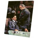 The Godfather, Vito Corleone, Marlon Brando , Al Pacino  10x14 inches Stretched Canvas