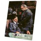 The Godfather, Vito Corleone, Marlon Brando , Al Pacino  12x16 inches Stretched Canvas