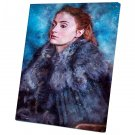 Game of Thrones , Sansa Stark,Sophie Turner  10x14 inches Stretched Canvas