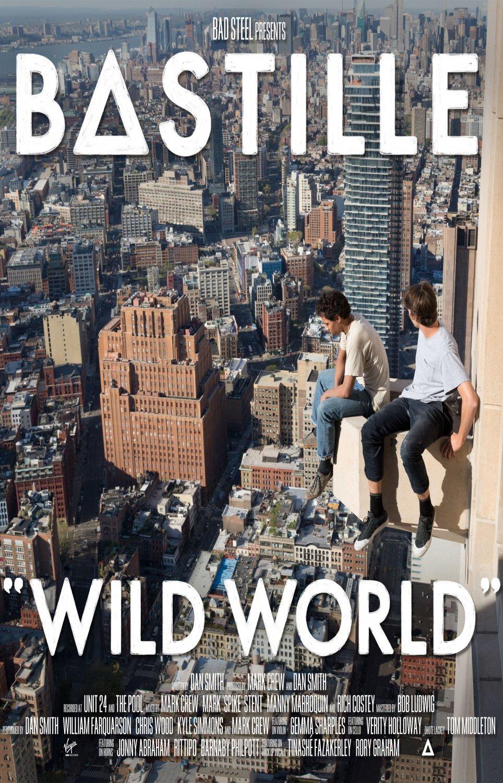 Bastille Wild World 24x35 inches Canvas Print