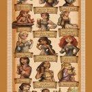 How Disney Princess Celebrate Oktoberfest 13x19 inches Poster Print