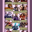 How Disney Villains Celebrate Oktoberfest 18x28 inches Poster Print