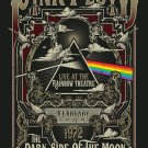 Pink Floyd the Dark Side of The Moon Concert 18x28 inches Canvas Print