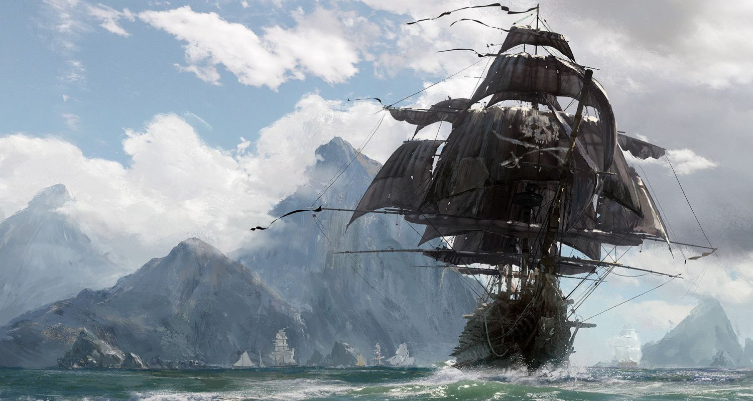 Skull and Bones 13x19 inches Poster Print