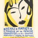Henri Matisse Maison de la Pensee  18x28 inches Canvas Print
