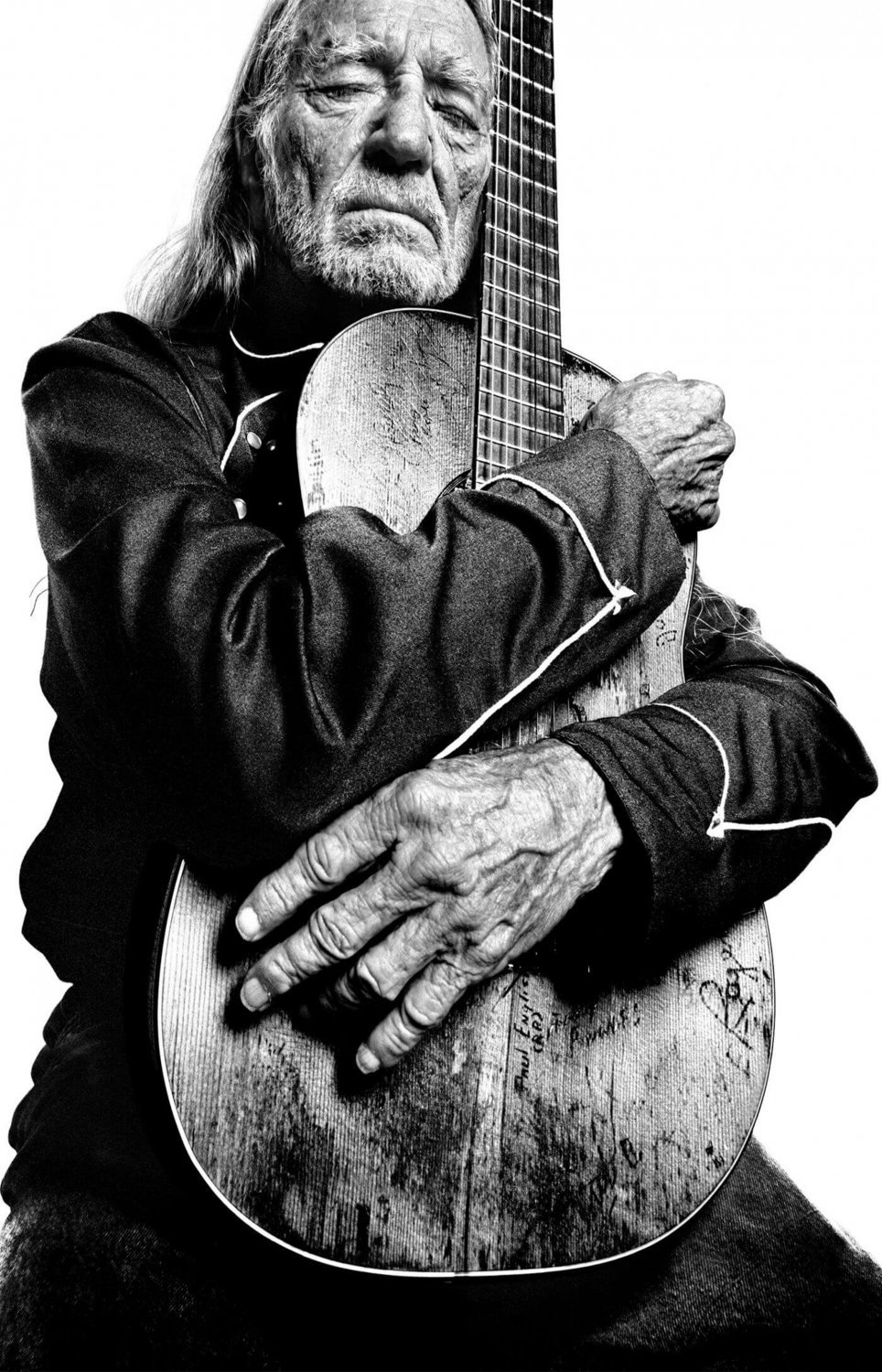 Willie Nelson  18x28 inches Canvas Print