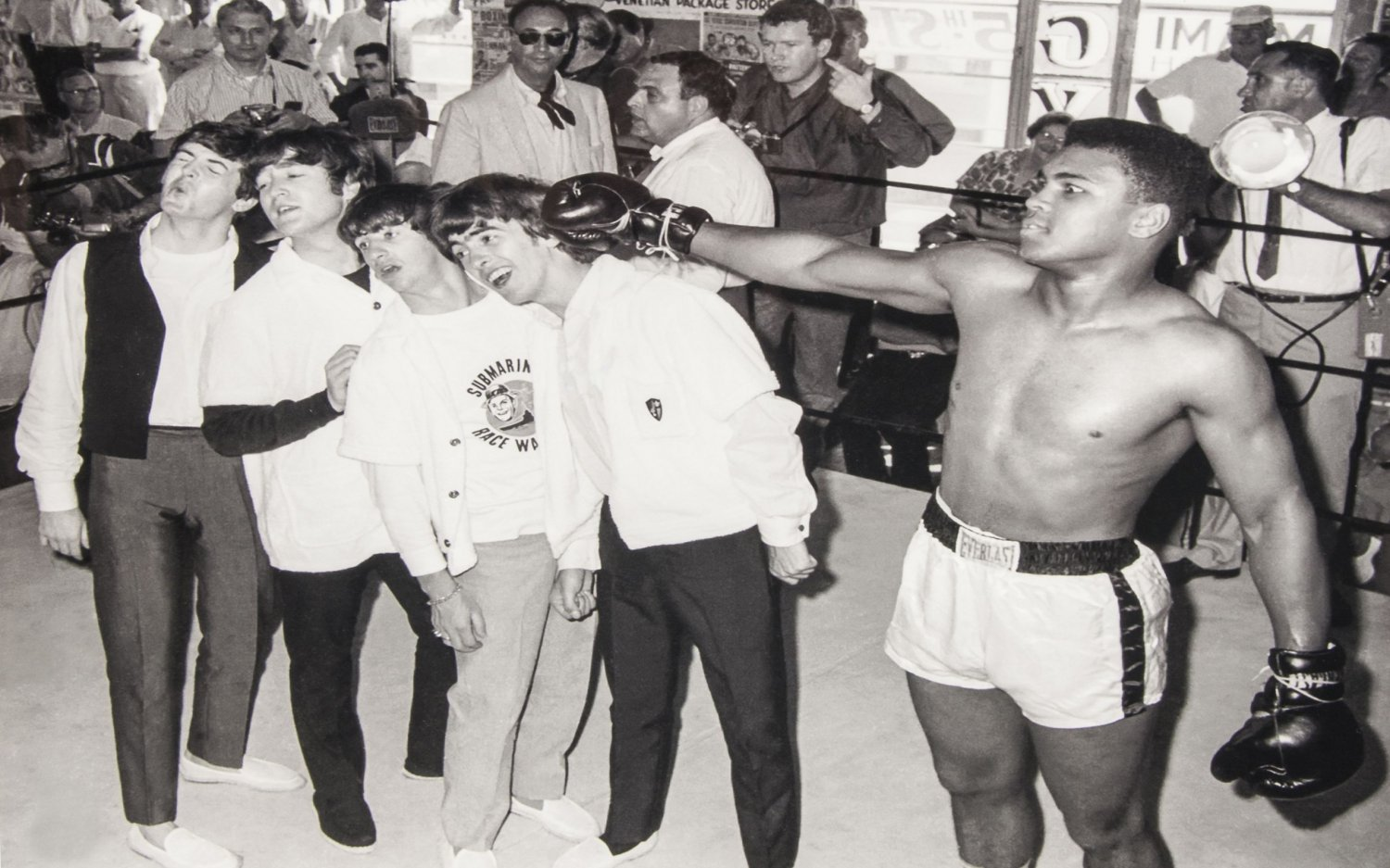 Muhammad Ali   The Beatles   13x19 inches Poster Print