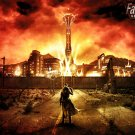 Fallout New Vegas Game  18x28 inches Canvas Print