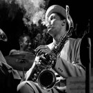 Dexter Gordon   18x28 inches Canvas Print