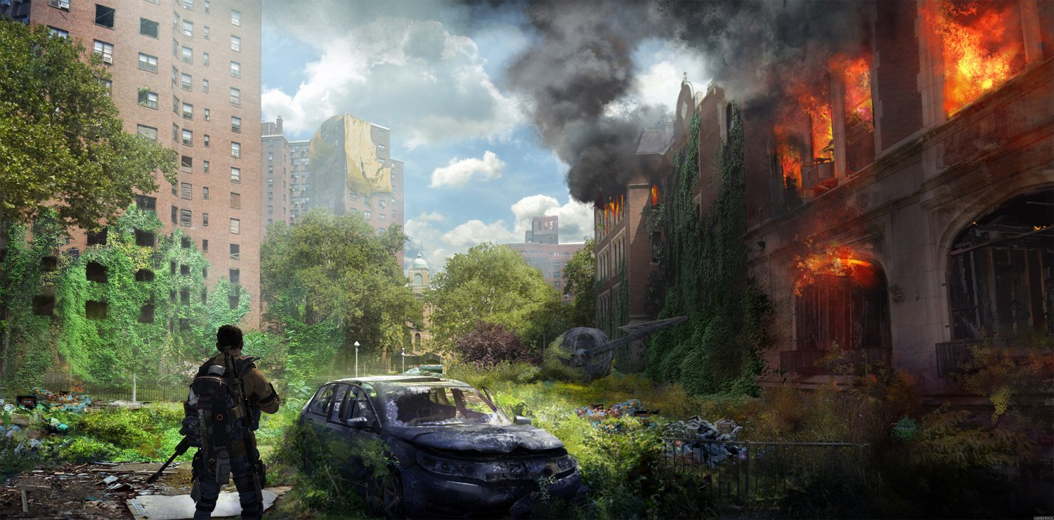 The Division 2 Warlords of New York Aaron Keener  24x35 inches Canvas Print