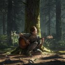 The Last of Us Part II Ellie  18x28 inches Canvas Print