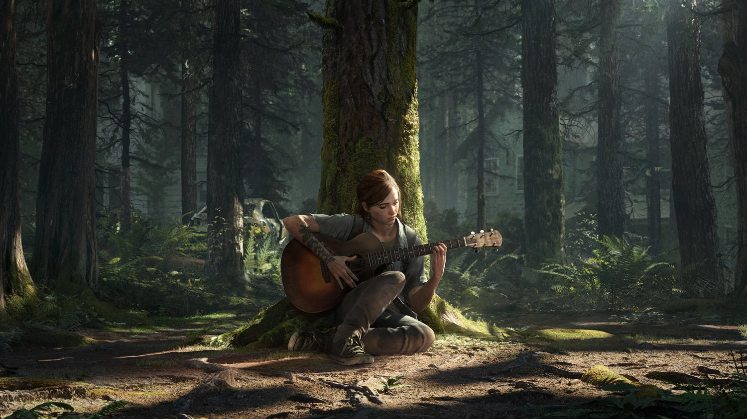 The Last of Us Part II Ellie  24x35 inches Canvas Print