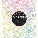 Grand Taxonomy of Rap Names Chart  24x35 inches Canvas Print